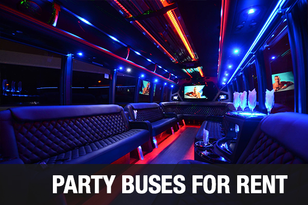 Party Buses For Rent Chula Vista