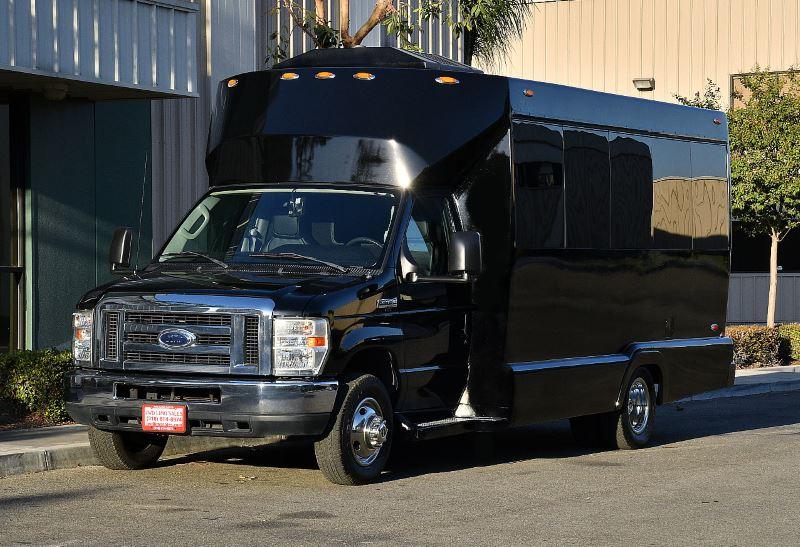 Chula Vista 50 Passenger Charter Bus
